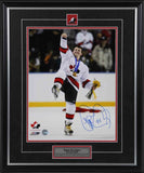 Theo Fleury Team Canada Gold Medal Celebration Signed 11x14 Photo