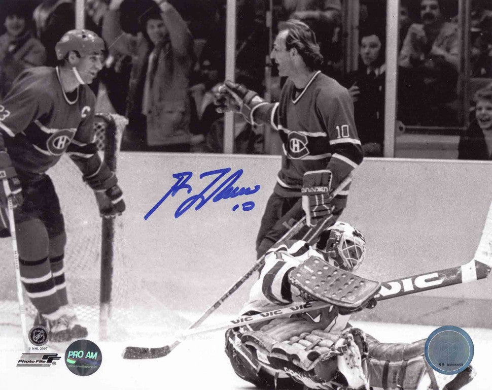 Guy Lafleur Montreal Canadiens Autographed 8x10 photo