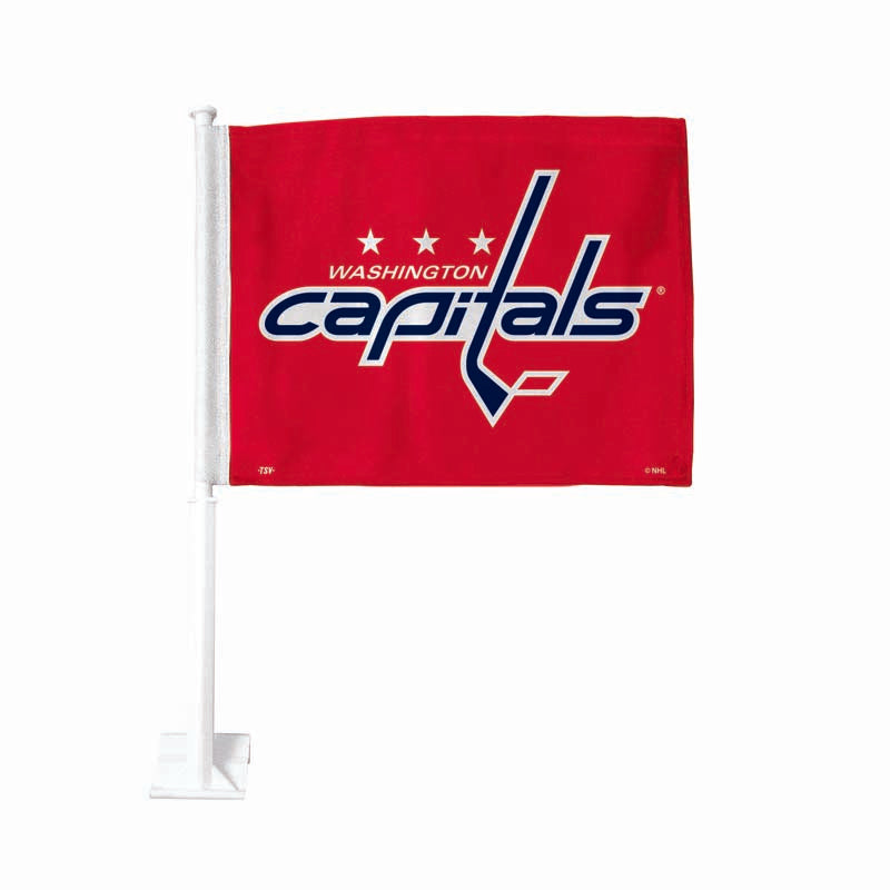 Washington Capitals Red Car Flag