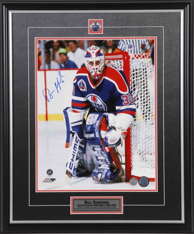 Bill Ranford Edmonton Oilers Autographed 8x10 Photo