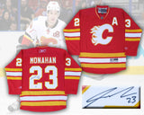 Sean Monahan Calgary Flames Signed Vintage Third Jersey