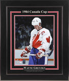Wayne Gretzky Team Canada Autographed 11x14 Photo