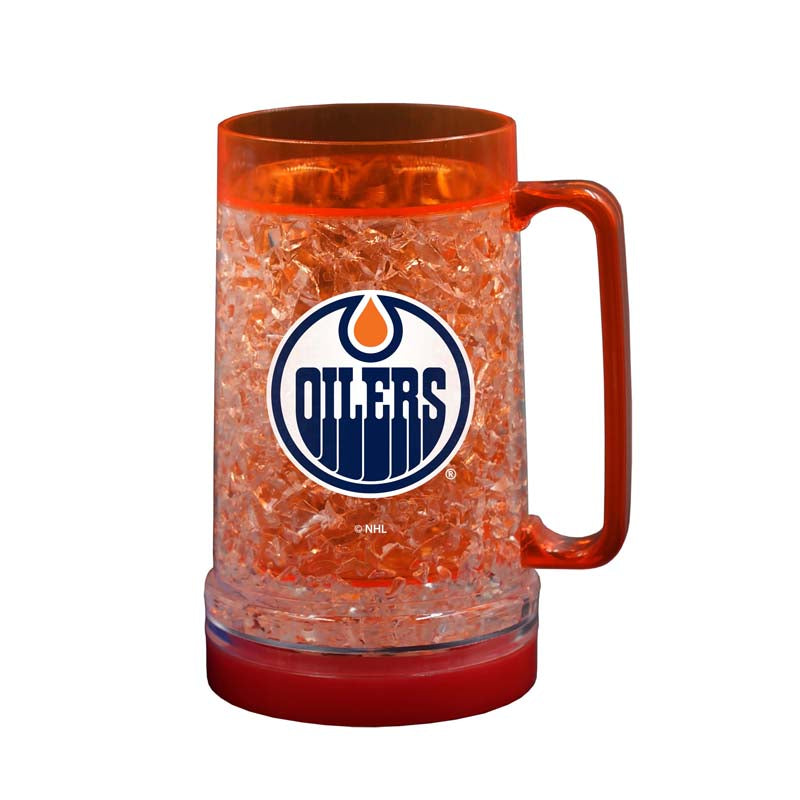 Edmonton Oilers 16oz Light Up Freezer Mug