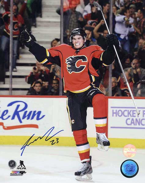 Sean Monahan Calgary Flames Autographed 16x20 Photo