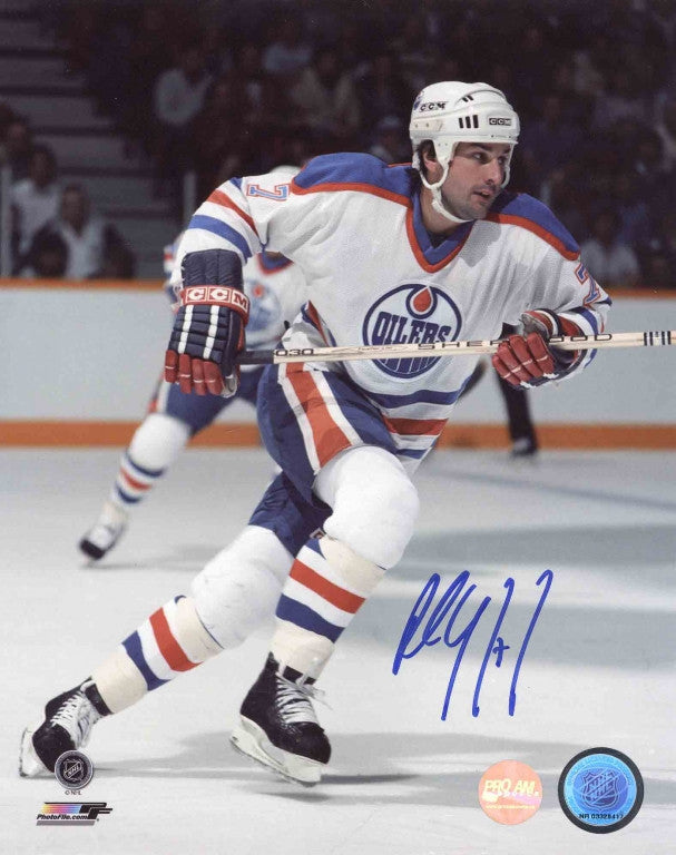 Paul Coffey Edmonton Oilers Autographed 8x10 Photo