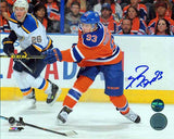 Ryan Nugent-Hopkins Edmonton Oilers -Shooting- Signed 8x10 Photo