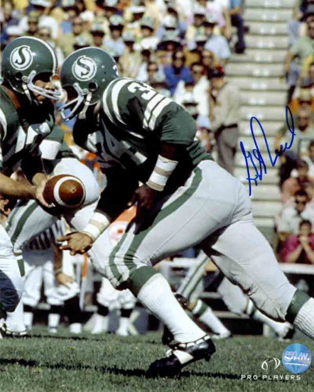 George Reed Saskatchewan Roughriders Autographed 8x10 Photo