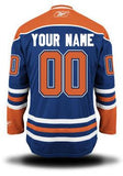 Edmonton Oilers Name & Number Home Blue Jersey Sewing Kit