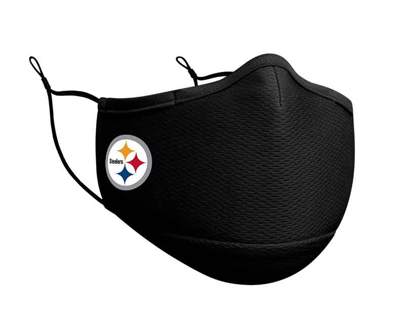 Pittsburgh Steelers New Era On Field NFL Face Cover/Mask