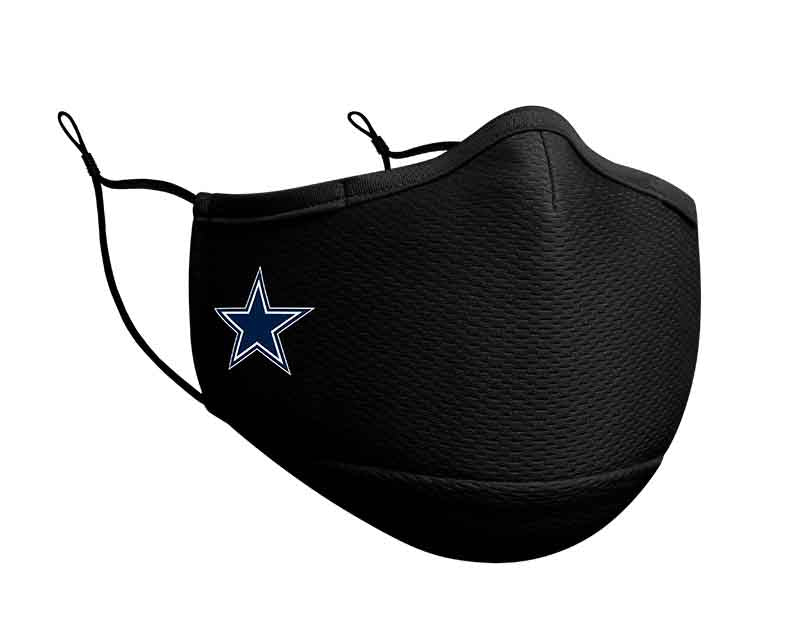 Dallas Cowboys New Era On Field NFL Face Cover/Mask