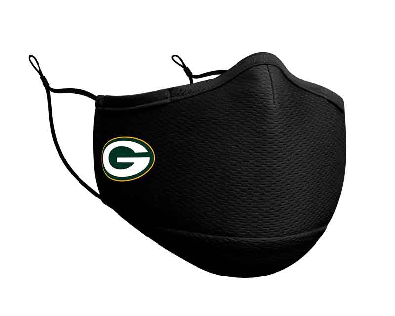 Green Bay Packers New Era On Field NFL Face Cover/Mask