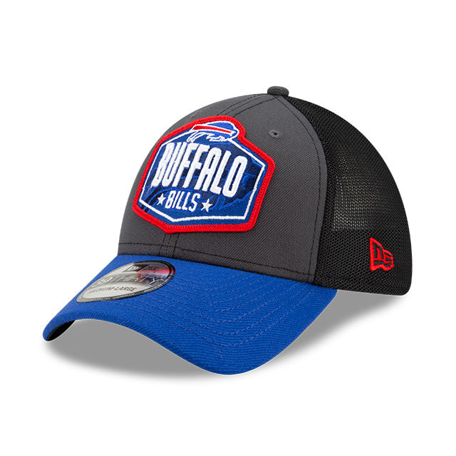 Buffalo Bills New Era 39Thirty 2021 NFL Draft Trucker Cap