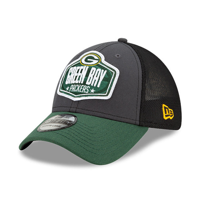 Green Bay Packers New Era 39Thirty 2021 NFL Draft Trucker Cap