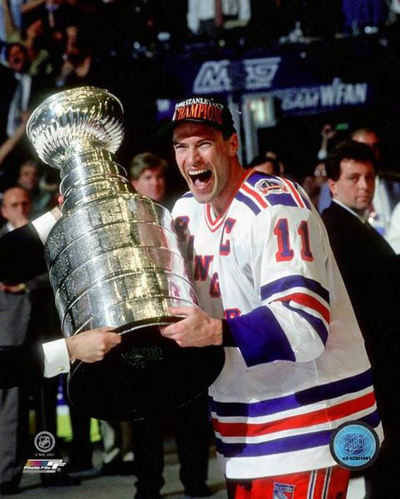 Mark Messier New York Rangers 16x20 Photograph