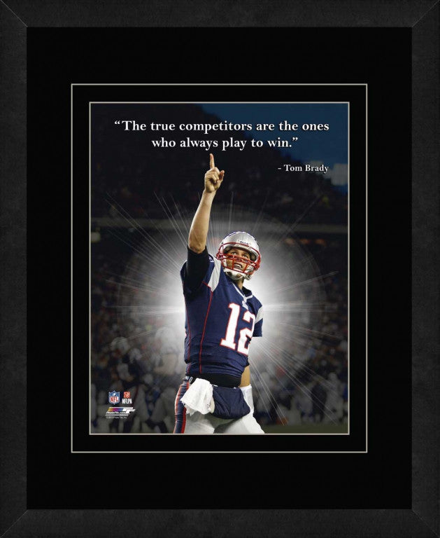Tom Brady New England Patriots Framed 11x14 Pro Quote