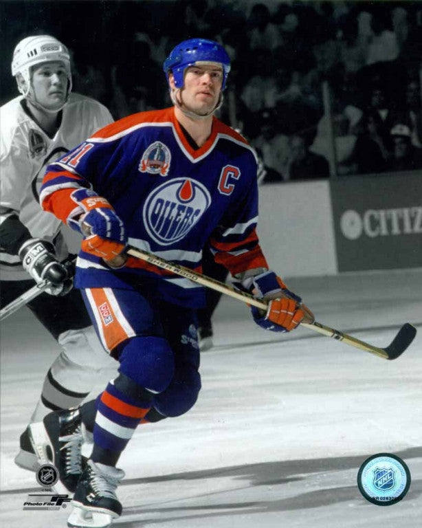 Mark Messier Edmonton Oilers 8x10 Photograph