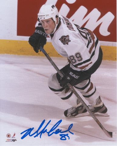 Mike Comrie Edmonton Oilers Autographed 16x20 Photo
