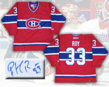 Patrick Roy Montreal Canadiens Autographed CCM Replica Jersey