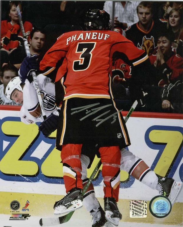 Dion Phaneuf Calgary Flames Autographed 16x20 Photo