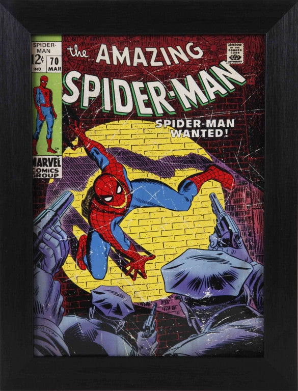 Amazing Spider-Man #70 Comic Cover 8x10 Value Frame – Pro Am Sports