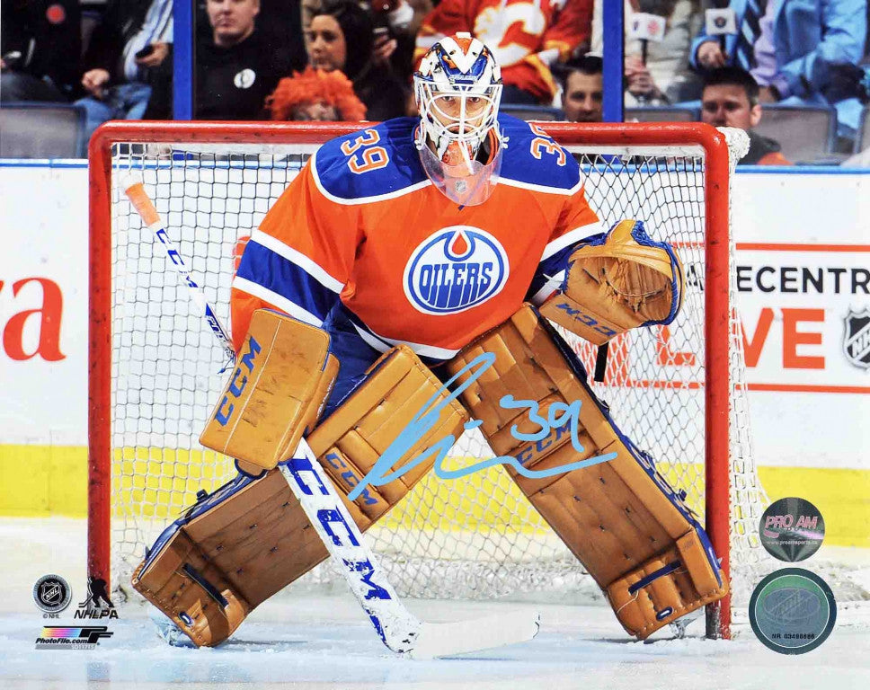 Anders Nilsson Edmonton Oilers Autographed 8x10 Photo