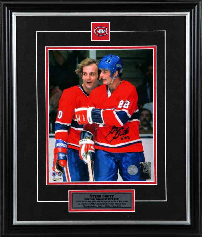 Steve Shutt Montreal Canadiens Autographed 8x10 Photo