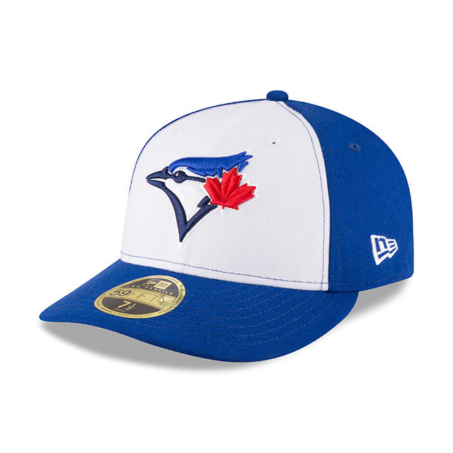 Toronto Blue Jays ON-FIELD Royal/White New Era Low Profile 59Fifty Cap