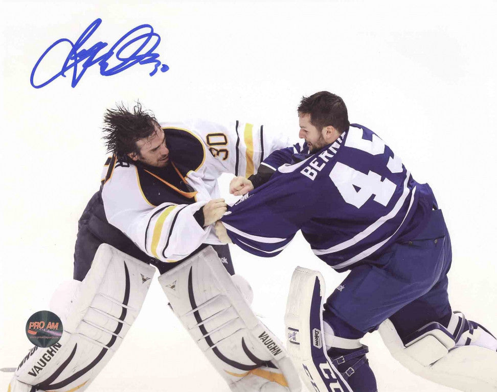 Ryan Miller Buffalo Sabres Autographed 8x10 Photo