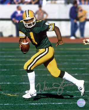 Warren Moon Edmonton Eskimos Autographed 16x20 Photo