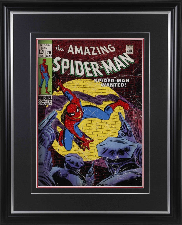 Amazing Spider-Man #70 Framed 11x14 Comic Cover