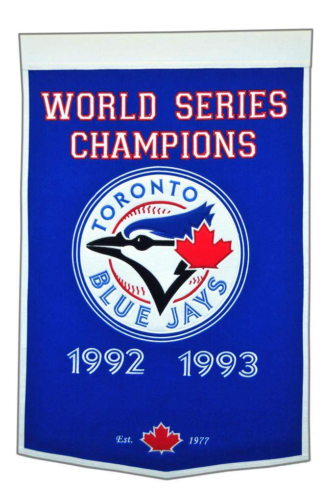 Toronto Blue Jays Wool Dynasty Banner