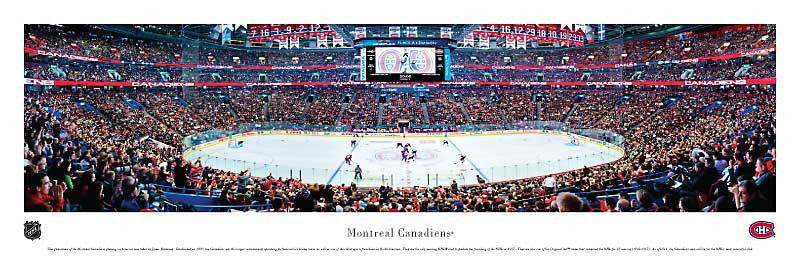 Montreal Canadiens - Bell Centre Panoramic Print
