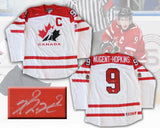 Ryan Nugent-Hopkins Signed Canada 2012-13 World Junior White Replica Jersey