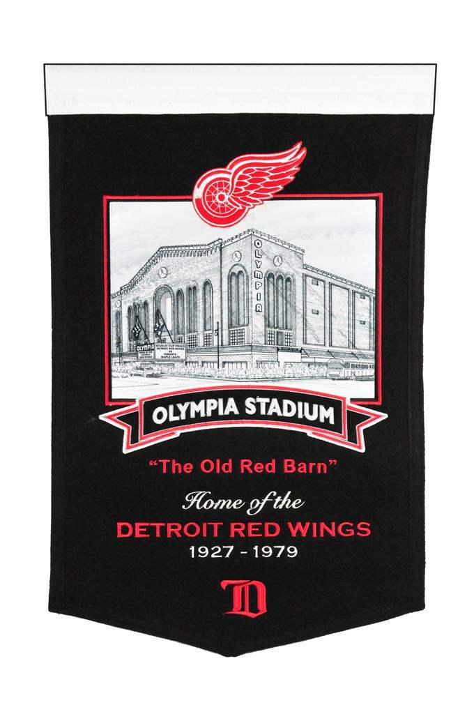 Detroit Red Wings Stadium Banner