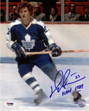 Darryl Sittler Toronto Maple Leafs Autographed 8x10 Photo