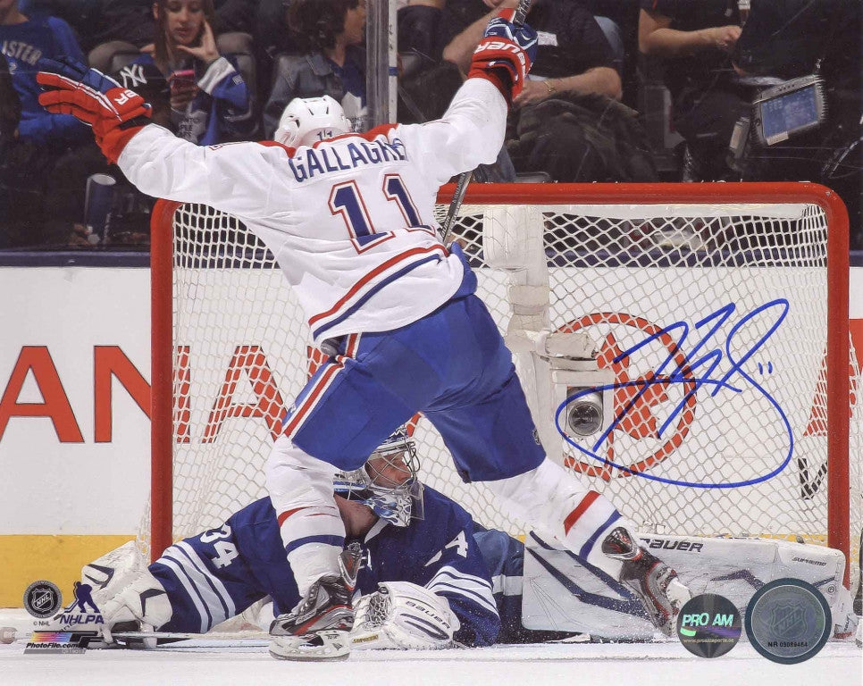 Brendan Gallagher Montreal Canadiens Autographed 8x10 Photo