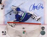 Ryan Miller Vancouver Canucks - Overhead - Signed 8x10 Photo