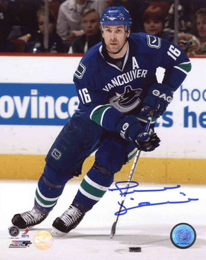 Trevor Linden Vancouver Canucks Autographed 8x10 Photo