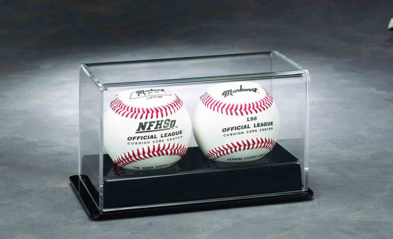 Double Puck / Baseball Acrylic Display Case