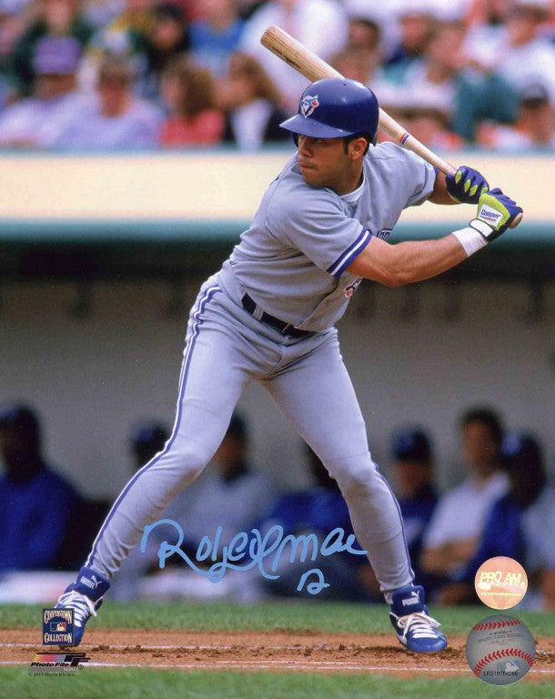 Roberto Alomar Toronto Blue Jays Autographed 8x10 Photo