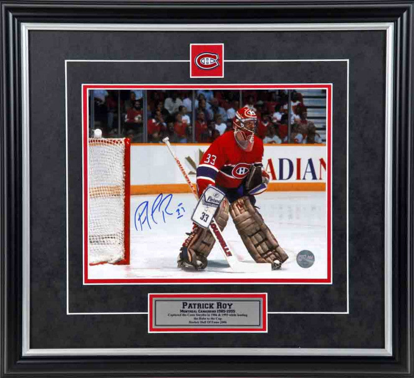 Patrick Roy Montreal Canadians Autographed 8x10 Photo