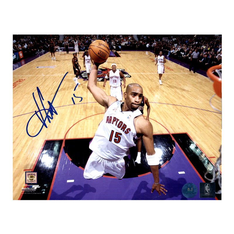 Vince Carter Toronto Raptors Autographed 8x10 Photo