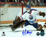 Andy Moog Edmonton Oilers Autographed 8x10 Photo