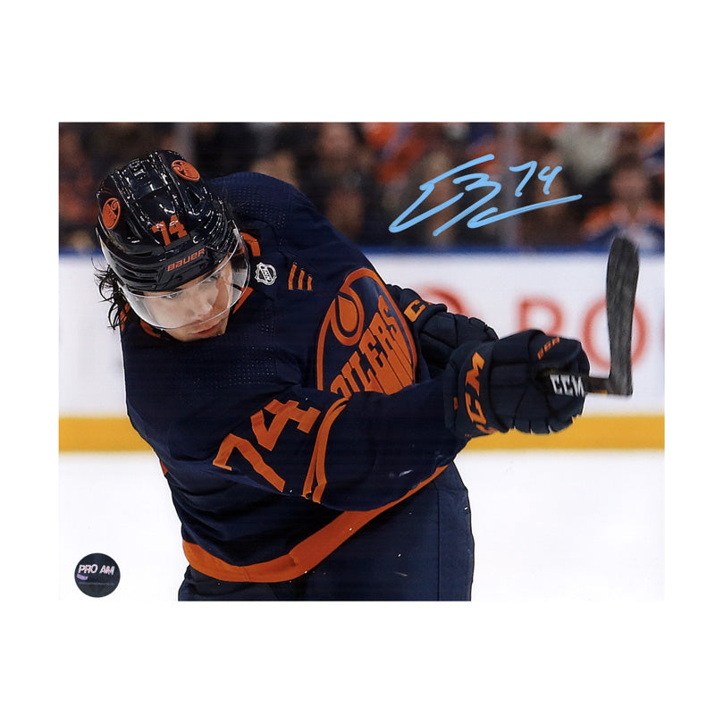 Ethan Bear Edmonton Oilers Autographed 8x10 Photo