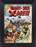 Giant-Size X-Men #1 Comic Book Cover 8x10 Value Frame