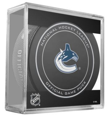 Vancouver Canucks Official NHL Game Puck – Pro Am Sports 7514bc904