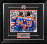 Wayne Gretzky & Ryan Smyth Edmonton Oilers Framed 8x10 Photo