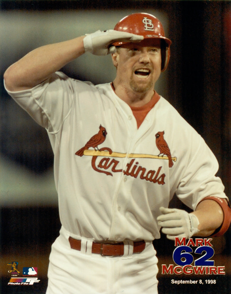 Mark McGwire St. Louis Cardinals 8x10 Photograph