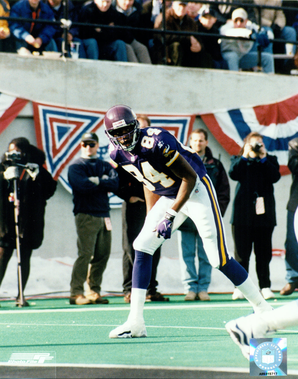 Randy Moss Minnesota Vikings 8x10 Photograph