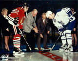 Gilmour & Sundin Final Game at Maple Leaf Gardens 8x10 Photograph